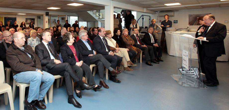 Le président du Sicasil, Jean-Yves Milcendeau et la présidente du Siaubc, Pascale Vaillant, ont présenté les projets des syndicats pour l'année 2016.