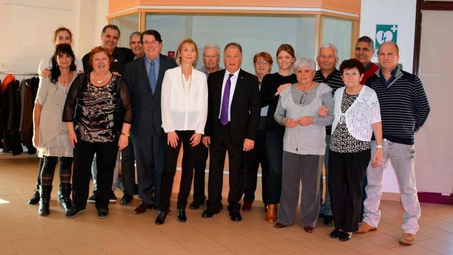 L'équipe de choc de l'association Les Amis de Merchweiler et Castellino-Tanaro.
