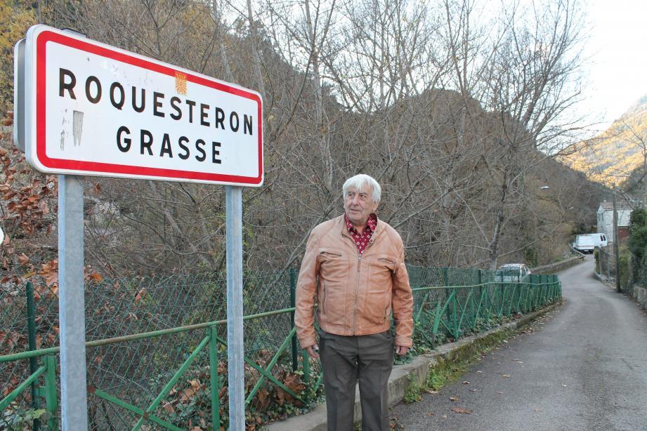 Joseph Valette a dit, sans regrets, adieu à « Roquestéron-Grasse ».