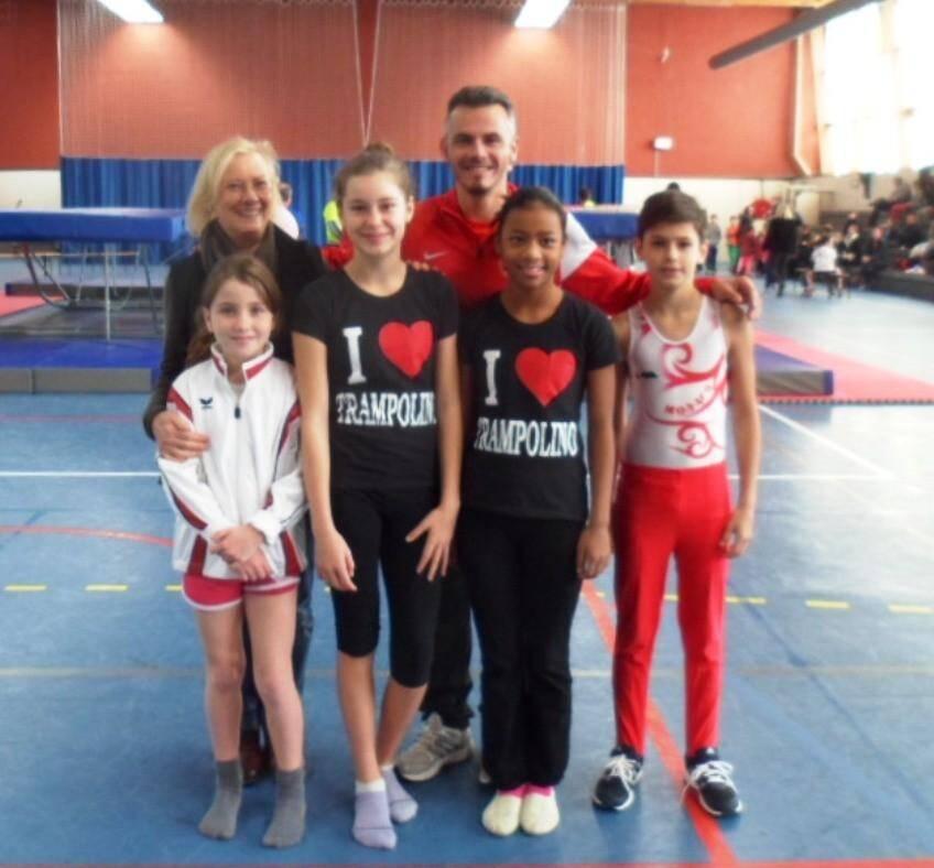 Les jeunes trampolinistes de l'Étoile de Monaco ont tous obtenu la première place de leur catégorie lors de cette première compétition de la saison.