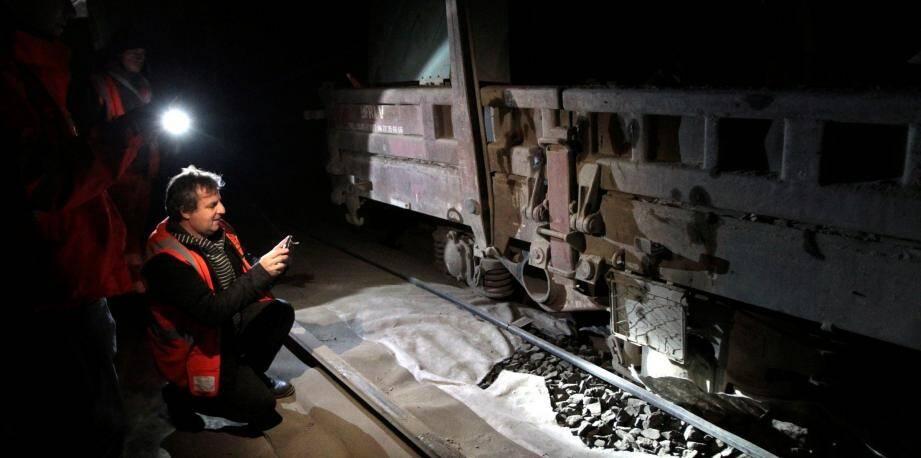 La SNCF a donné des précisions sur le déraillement d'un wagon la nuit dernière dans le tunnel qui relie Eze à Cap-d'Ail.