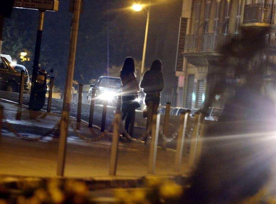 Des prostituées à Nice (image d'illustration)