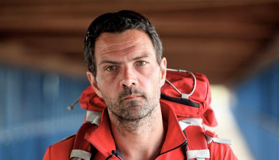 Jérôme Kerviel juste avant son interpellation à Menton le 18 mai 2014