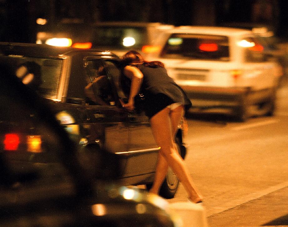 Illustration de la prostitution à Nice.