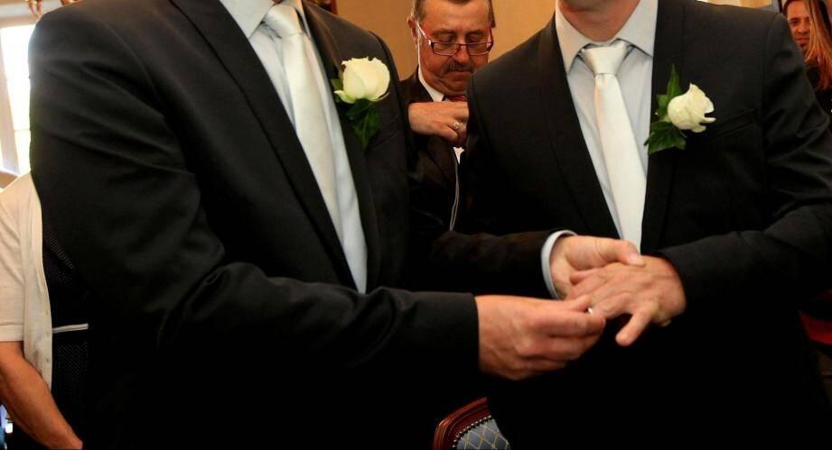 Les mariages homosexuels permettent au chiffre global de ne pas baisser à Nice.