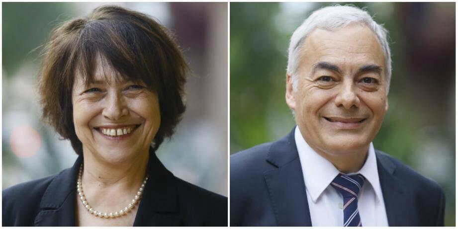 Dominique Boy-Mottard et Patrick Allemand.
