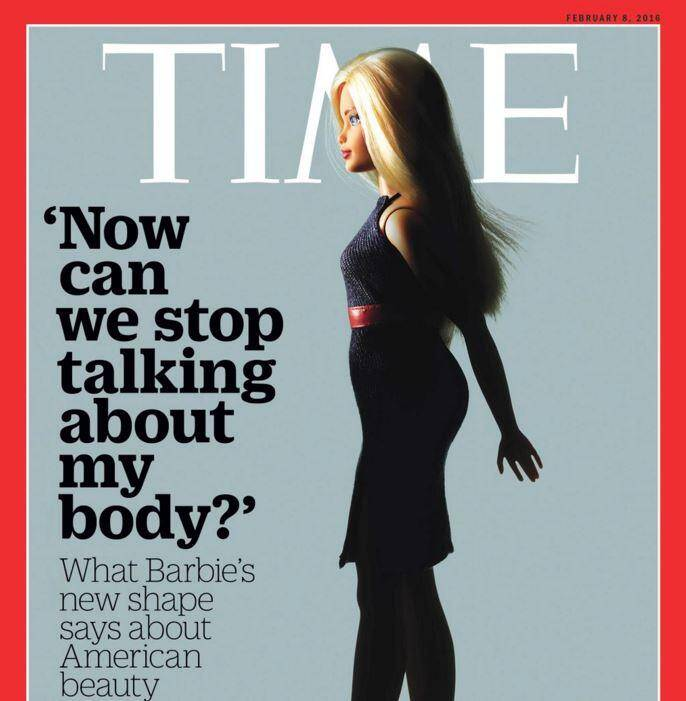 La une du Time magazine.