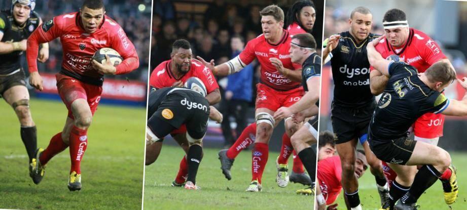 Le RCT face à Bath Rugby.