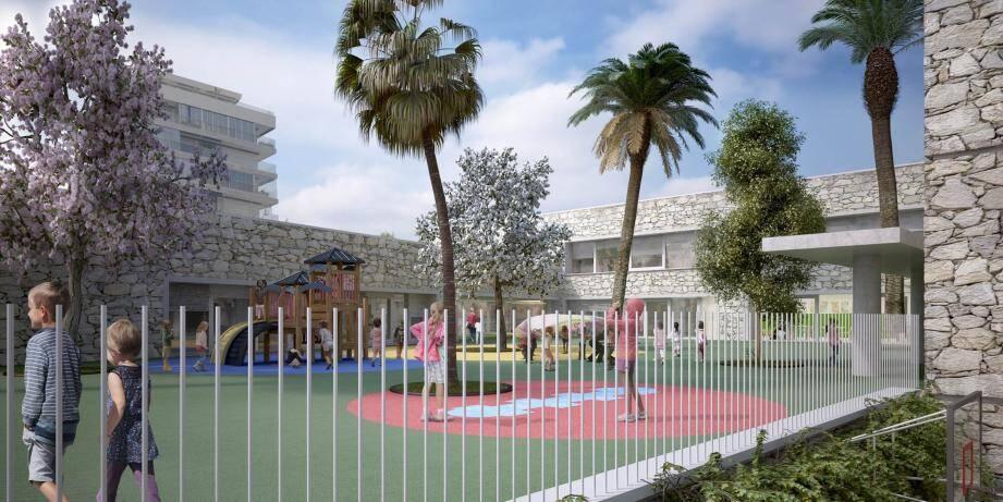 La nouvelle école aux Broussailles ouvrira en 2018 à Cannes