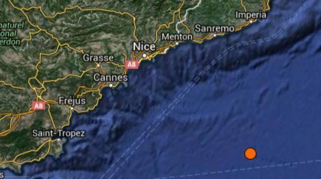Un petit séisme au large de Menton ce lundi matin