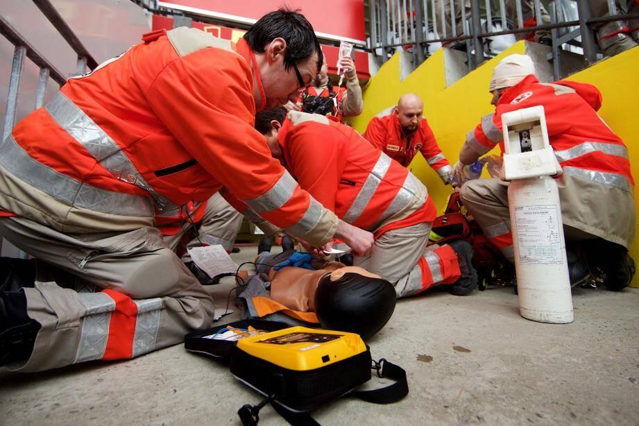 Un atelier de formation aux premiers secours (image d'illustration)