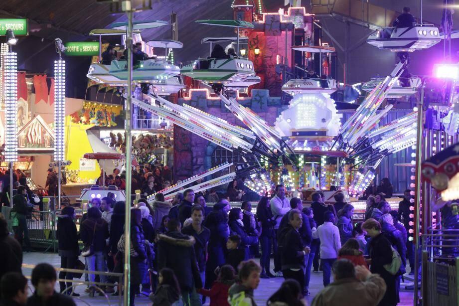 Bilan fréquentation au Luna Park de Nice