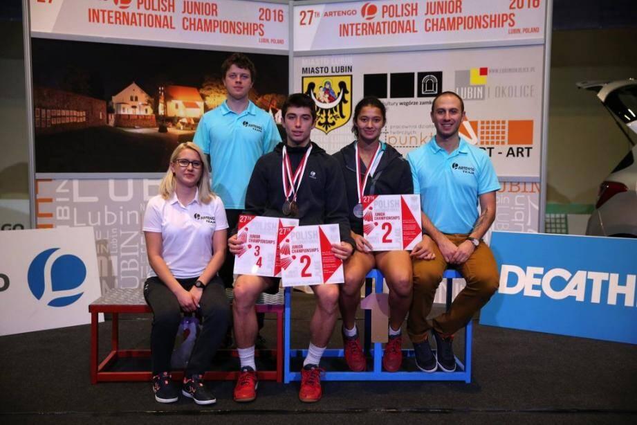 Le virtuose du BCA démarre fort l'année 2016 avec deux podiums sur les terrains de Lubin.