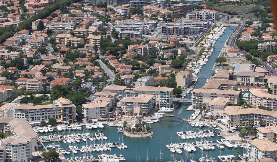 Le port de Fréjus (image d'illustration).