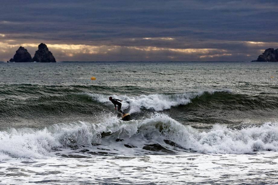 Des vagues importantes sont attendues.
