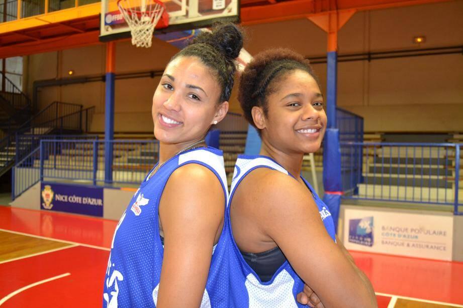 Ambrosia Anderson (à g.) et Courtney Hurt (à d.) amènent le sourire au Cavigal.