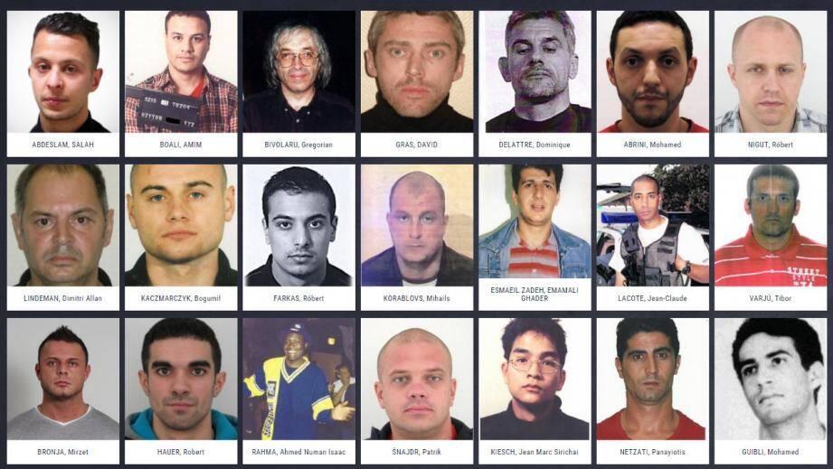 Les fugitifs les plus recherchés selon Europol