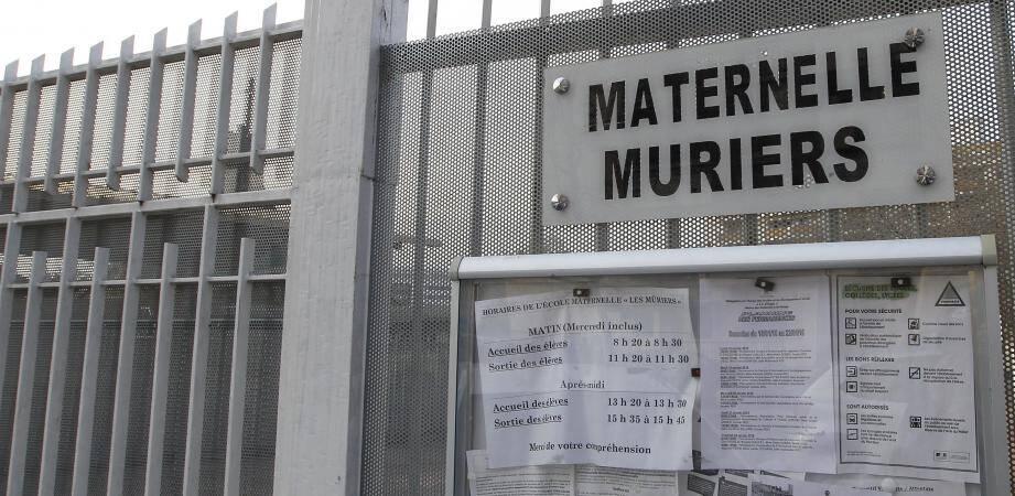 L'école maternelle des Mûriers de l'Ariane, à Nice.
