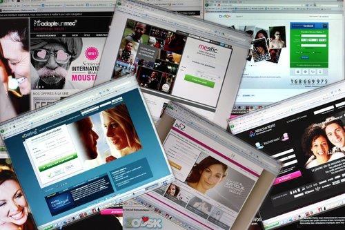 Meetic, adopteunmec.com, Badoo... Il y en a pour tous les goûts.