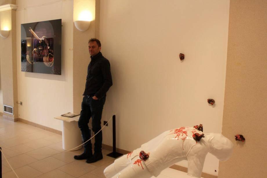 Les correspondances entre le photographe, Marc Gaillet, présent sur la photo, et le céramiste Marc Alberghina sont nombreuses.
