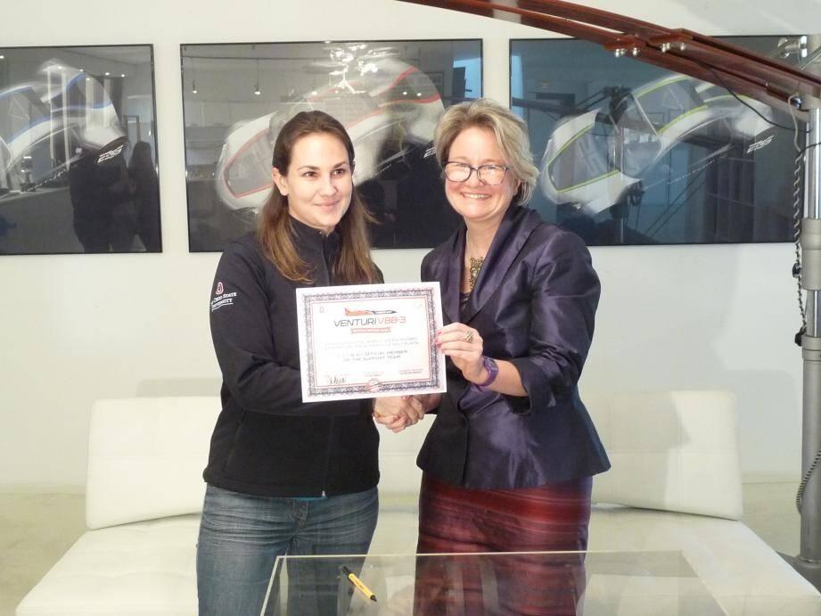 Parmi les premiers signataires, Christine Bénard, directeur gérant de G-G+, a choisi de s'associer au projet en versant une aide financière.