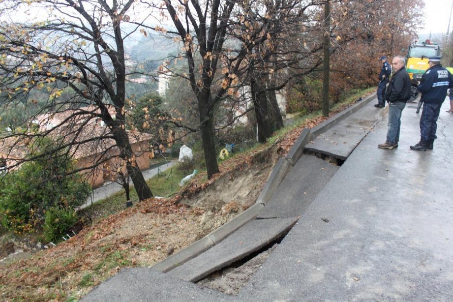 Les dégâts sur la voirie ont été estimés à 500 000 euros.