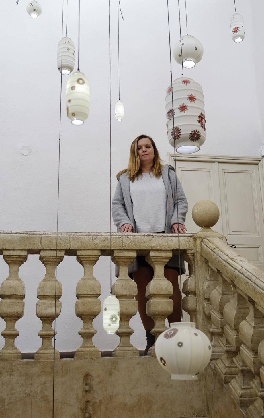 Céline Graziani, coordinatrice de la Biennale.