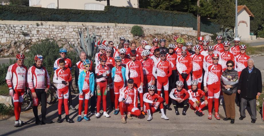 Les coureurs de l'Union cycliste de Monaco ont participé, dans une ambiance amicale, à cette épreuve traditionnelle en hommage à l'un des fondateurs du club.