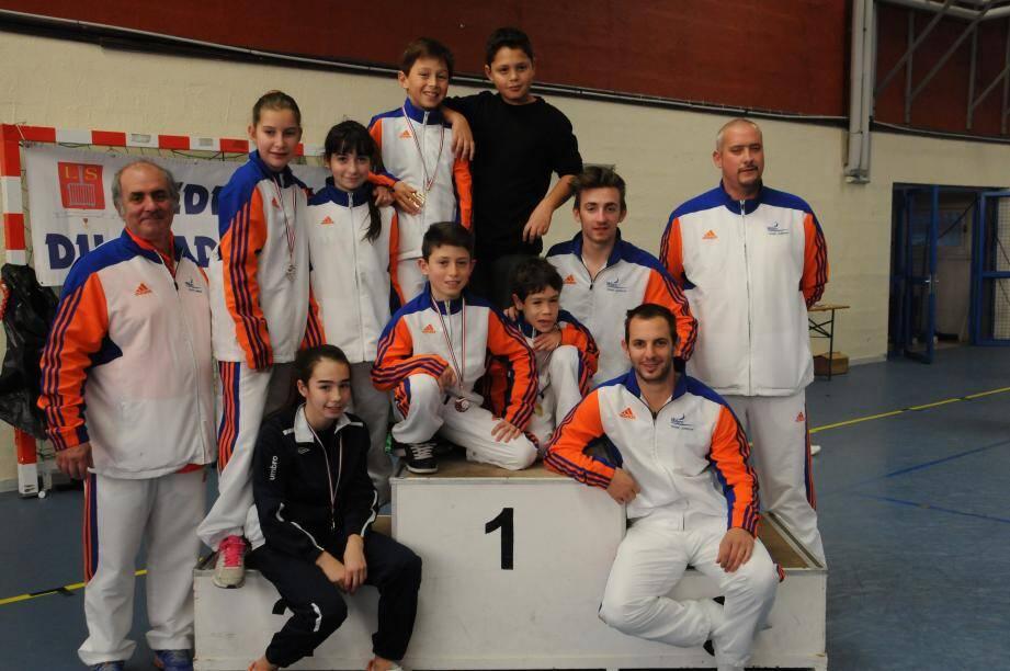 Le club laurentin de trampoline a brillé, les 30 et 31 janvier, lors du championnat régional.