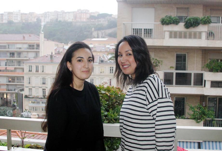 Nadia, 25 ans, et Farah, 32 ans : la Beausoleilloise et la résidente monégasque vont devoir parcourir 6 000 kilomètres en dix jours.