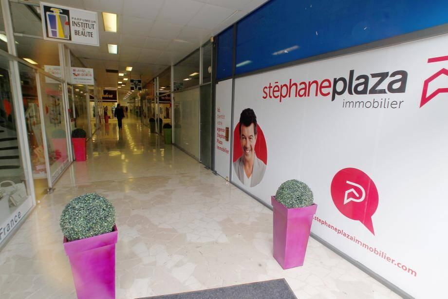 Une agence rattachée à sa franchise immobilière ouvrira ce mois-ci à Nice.