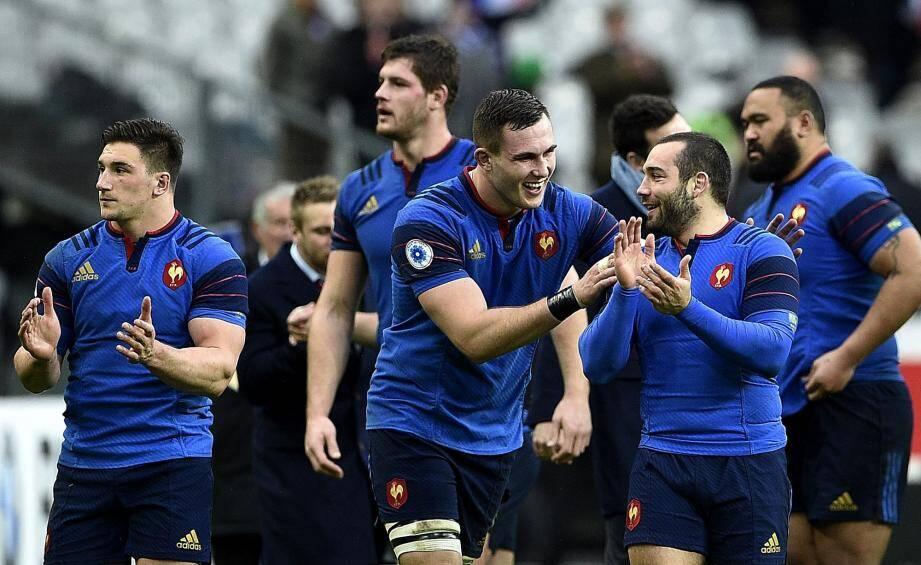 Le XV de France qui sourit à nouveau : Guy Novès est passé par là.