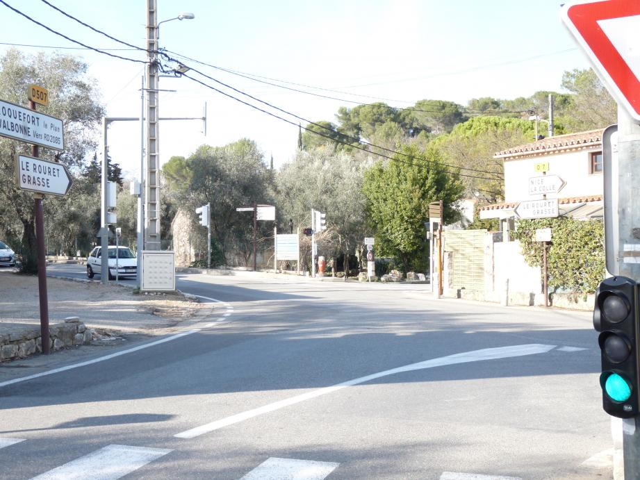 Parmi les investissements évoqués en 2016, l'aménagement du carrefour Notre-Dame pour un montant 30 000 euros.