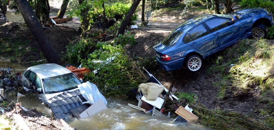 Le 3 octobre, le camping du Sourire payait un lourd tribut aux intempéries.
