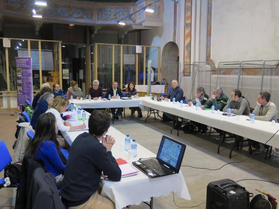 La réunion du comité de pilotage Natura 2000 s'est tenue salle Sainte-Catherine.