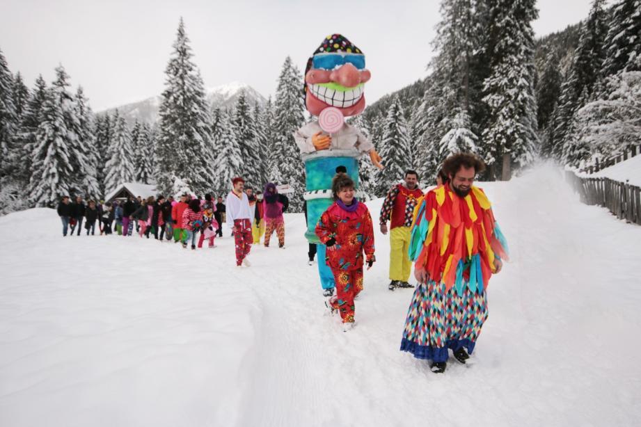 C'est la première fois que les loups ont eu droit à carnaval !