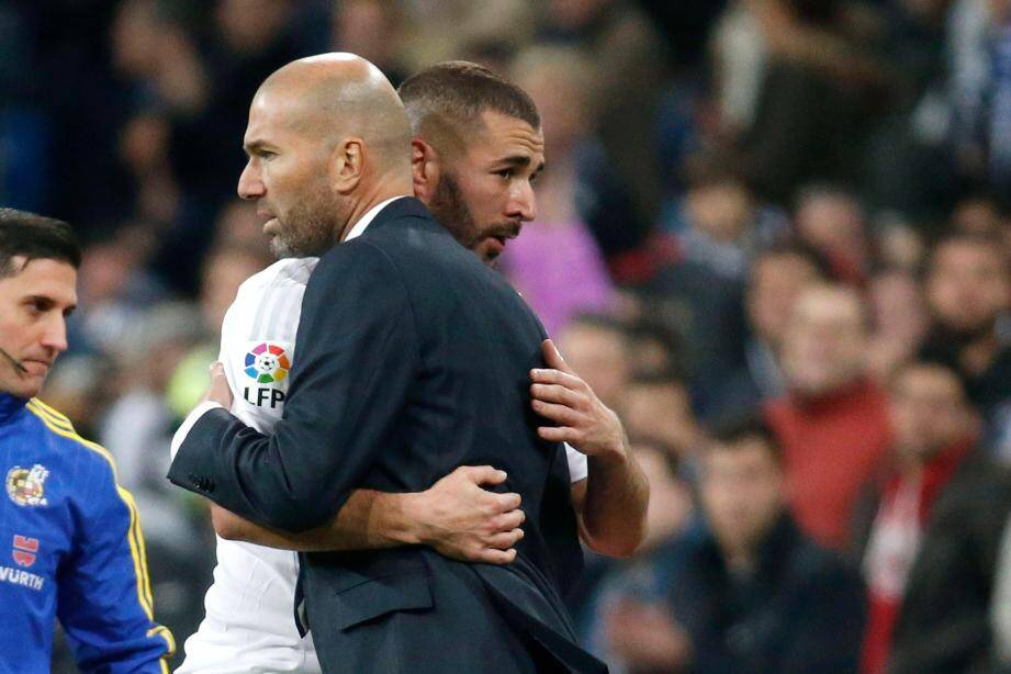 Zidane compte sur Benzema.
