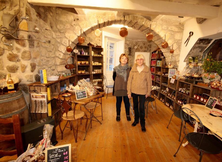 Sylvie Leluin et Chantal Mallet propriétaires de Côté Saveurs.