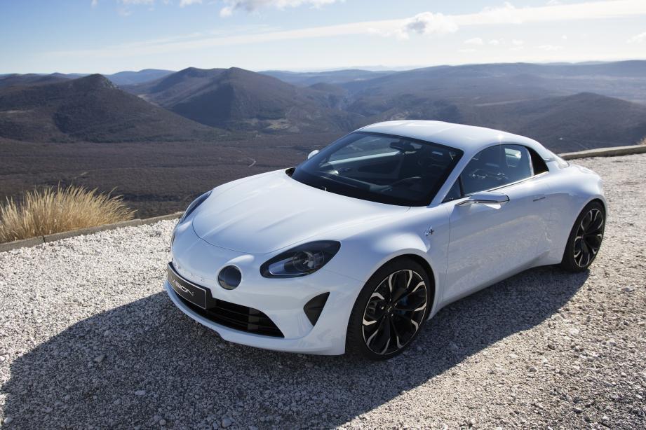 Le concept Vision préfigure à 80 % selon Renault ce que sera la nouvelle Alpine.