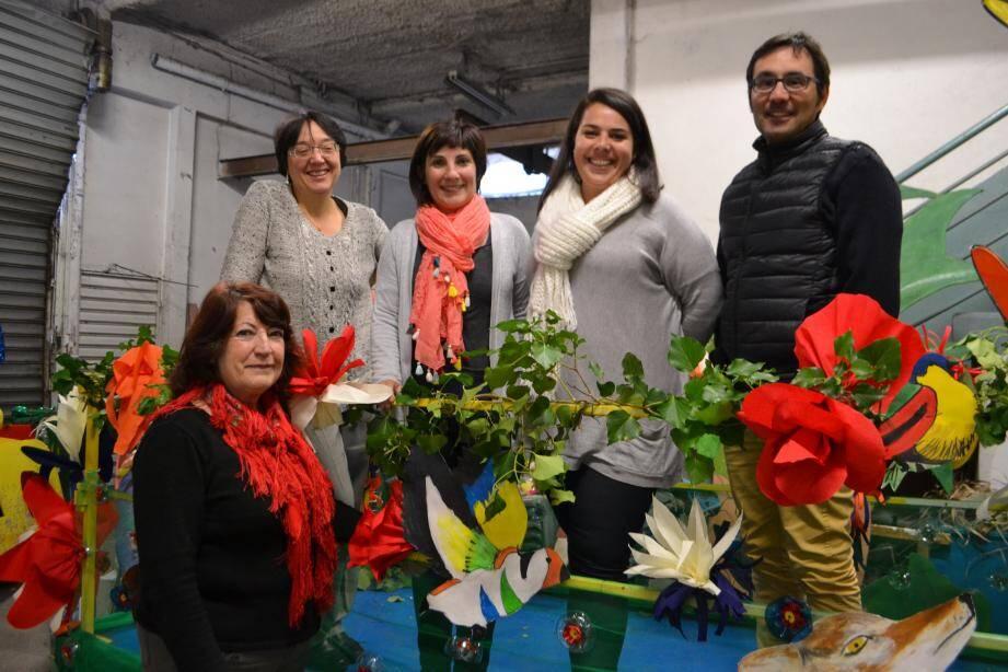 La nouvelle équipe du comité des fêtes a relevé son premier défi avec l'organisation du carnaval qui aura lieu dimanche à 15 h.