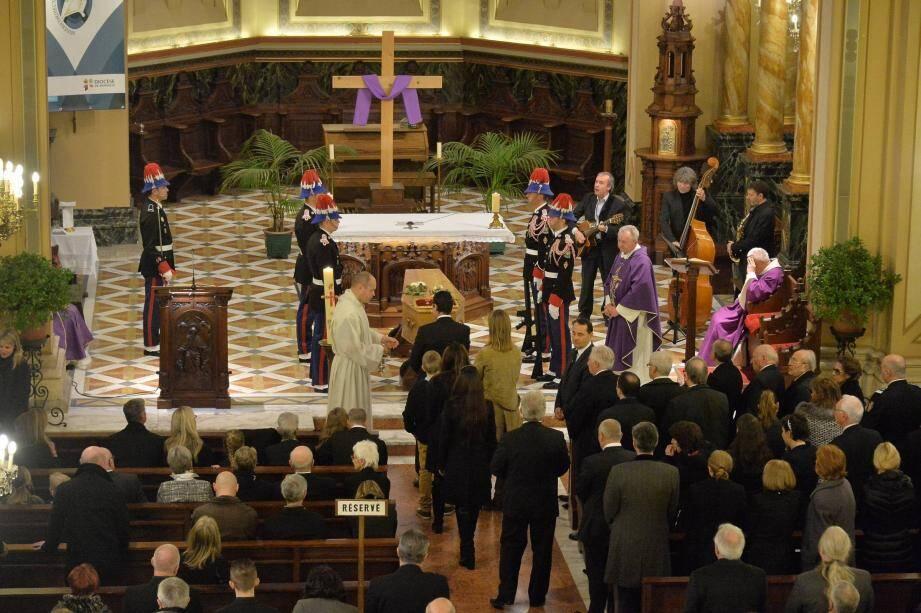 Les obsèques de l'ancien directeur du théâtre Princesse-Grace se déroulaient hier matin en l'église Saint-Charles.