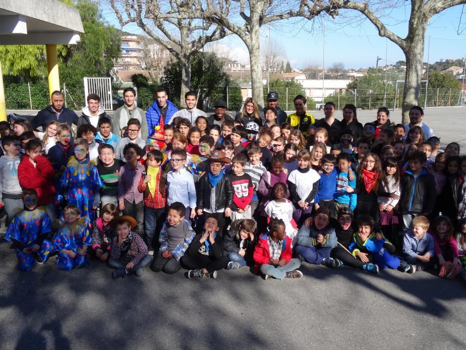 Près de 430 enfants et adolescents ont été accueillis dans les cinq centres de loisirs ouverts sur la commune pendant ces vacances de février.