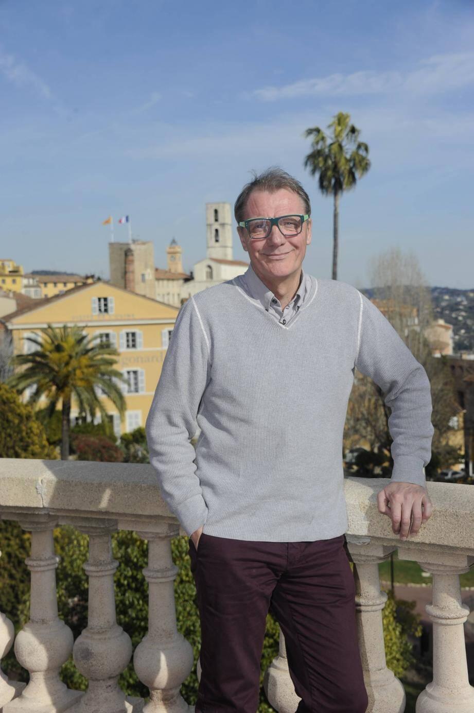 Jean-Claude Junin : « La ville de Grasse a toujours été au centre et doit revenir au centre ».
