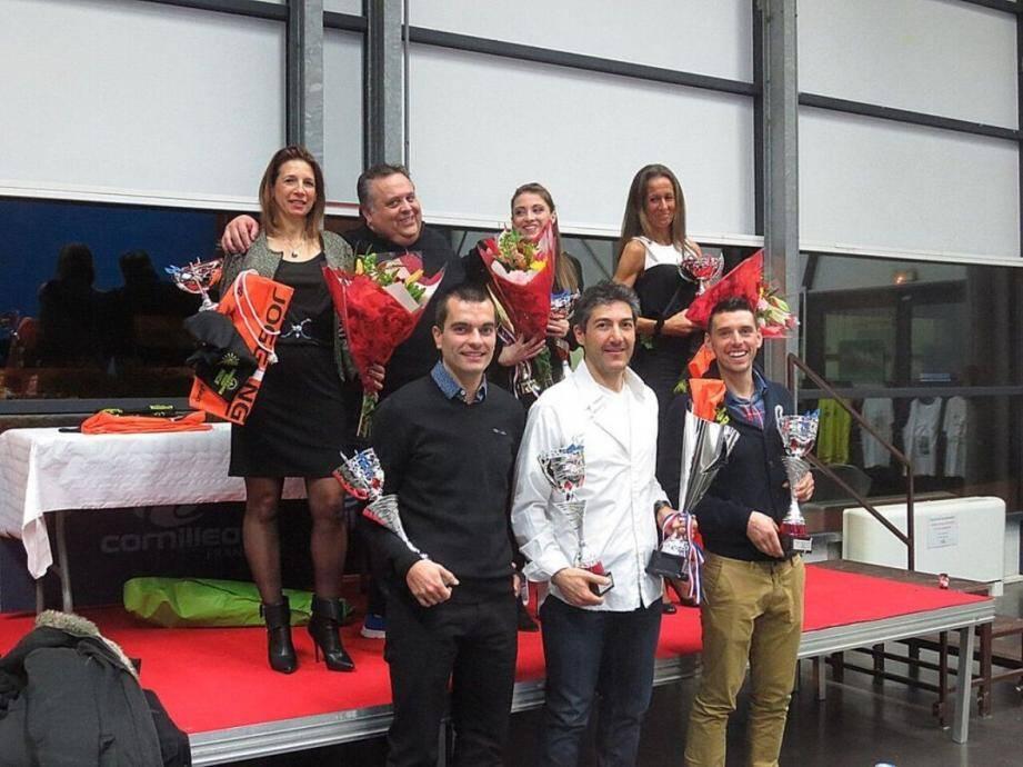 L'assemblée générale du club cap-d'aillois était aussi l'occasion de récompenser les membres du club les plus performants.