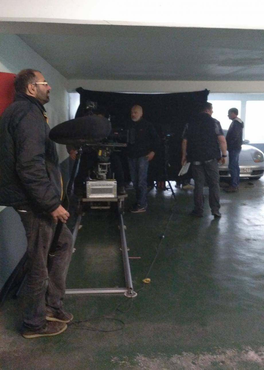 Comme le 26 janvier dernier, un pick-up était au centre de toutes les attentions, hier, sur le tournage.
