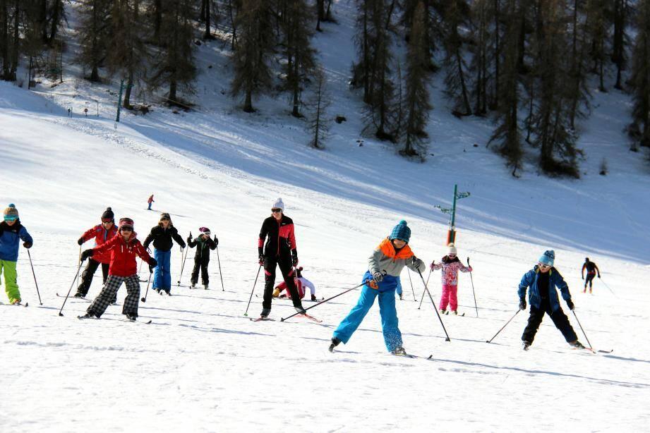Grande journée de sensibilisation des écoliers au ski de fond.