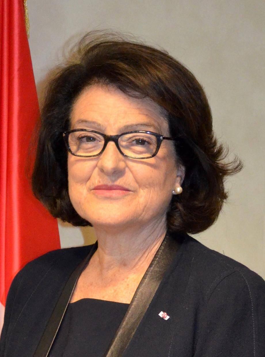 Yvette Lambin-Berti, ambassadeur de Monaco auprès de l'Unesco.(DR)