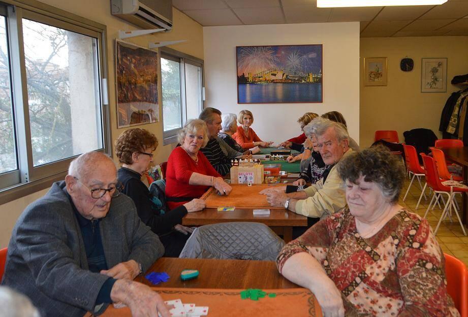 Une bonne après-midi parmi tant d'autres au club de la rue Mirabeau.