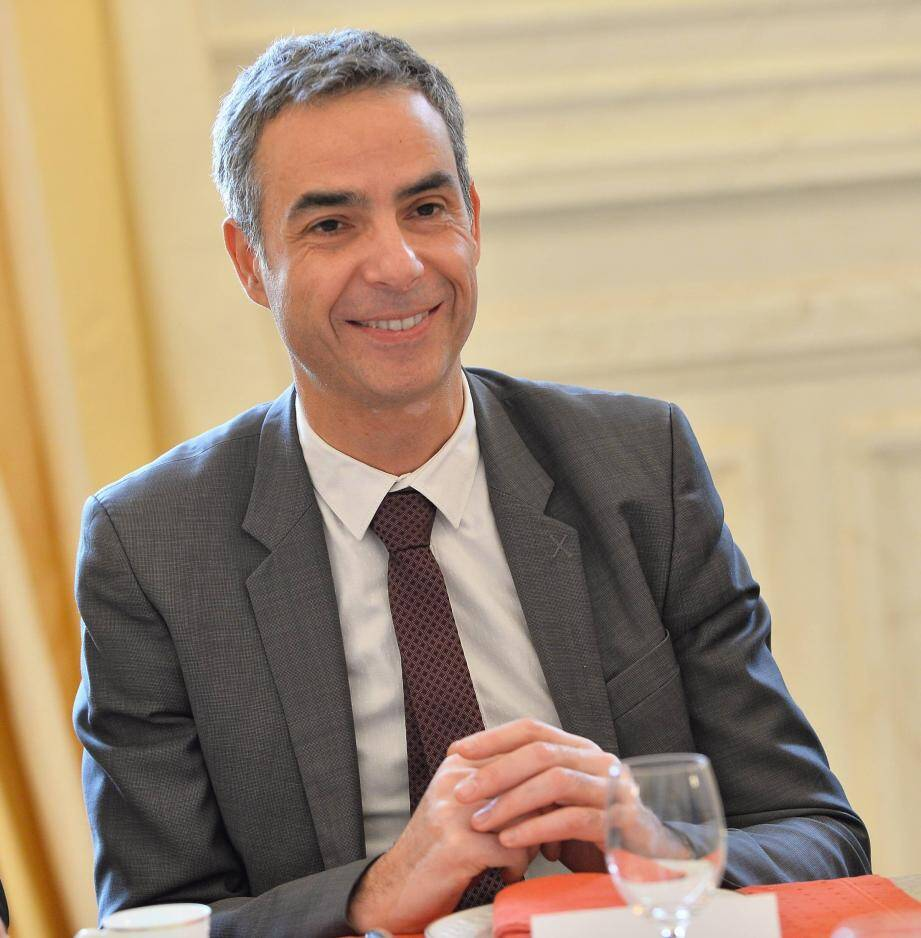 Martin Peronnet, directeur général  de Monaco Telecom.