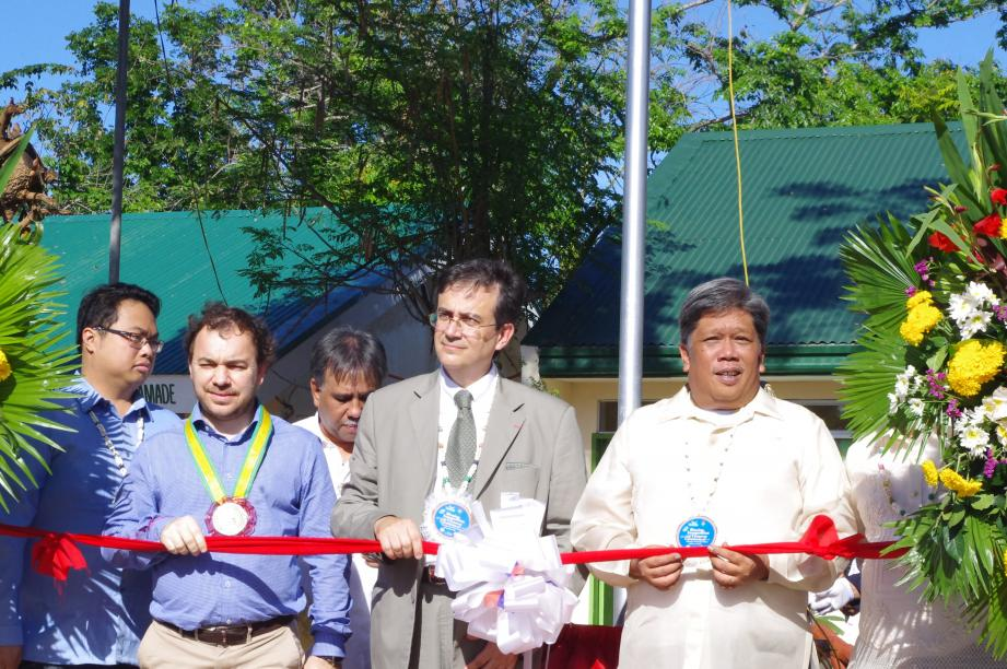 Grâce à l'Amade Mondiale, cette école réhabilitée a été inaugurée la semaine dernière.(DR)